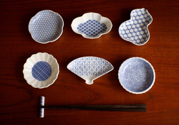 1枚1枚の形の違いが楽しい豆皿
