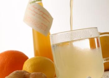 3種類の柑橘のジンジャーシロップ