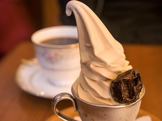 ミカド珈琲のモカアイス