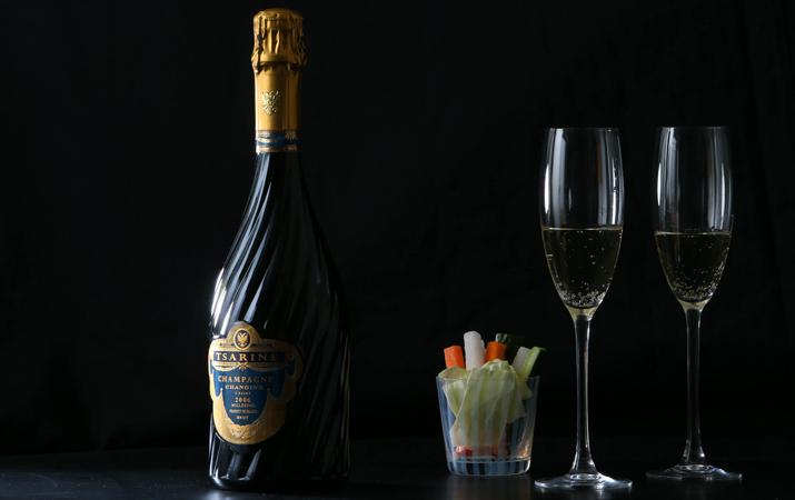 華やかなボトルのシャンパンメゾン