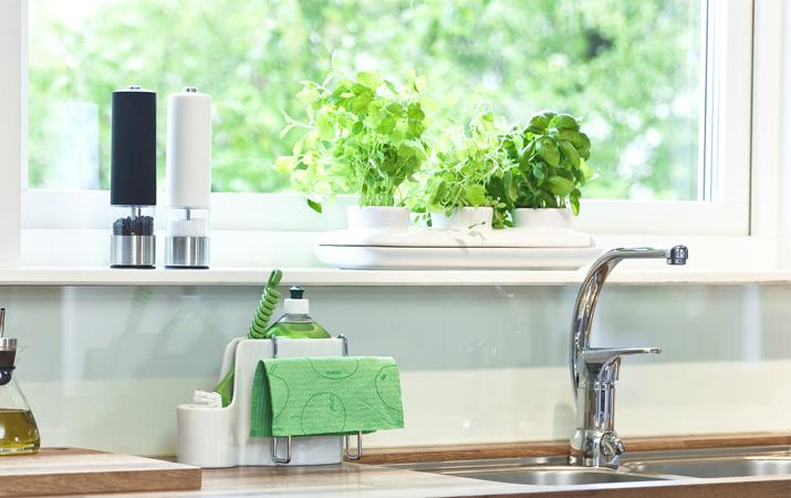 心にゆとりを。植物の水やり