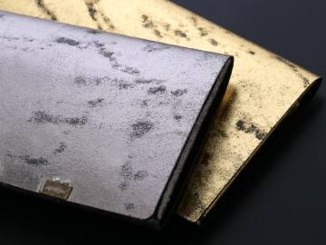 1点1点違う表情を持った財布