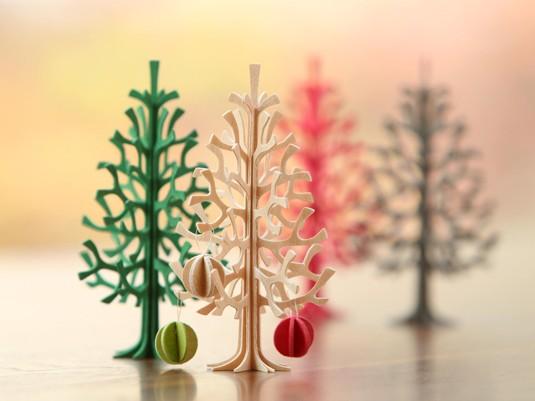 12cmのツリーは4色の展開です