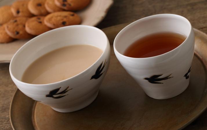 シンプルながら凛とした雰囲気のカップ