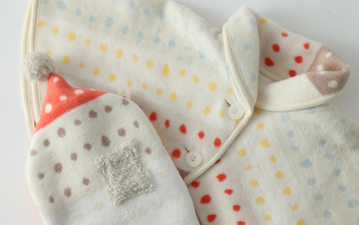 可愛くて優しい肌触りの日本製カバー