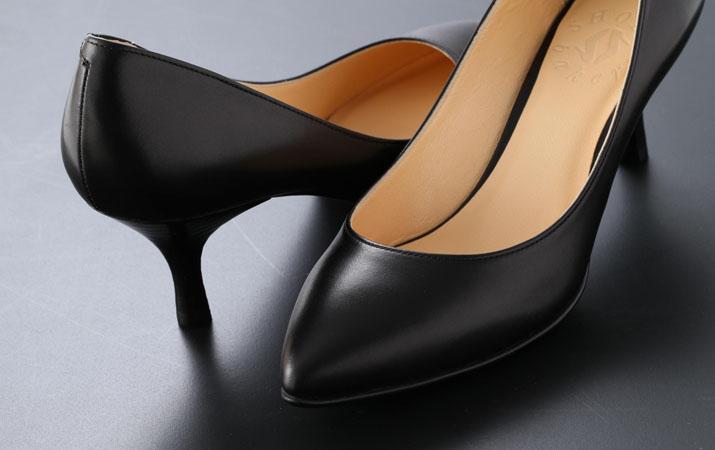 脚をキレイに見せるだけでなく、歩きやすい