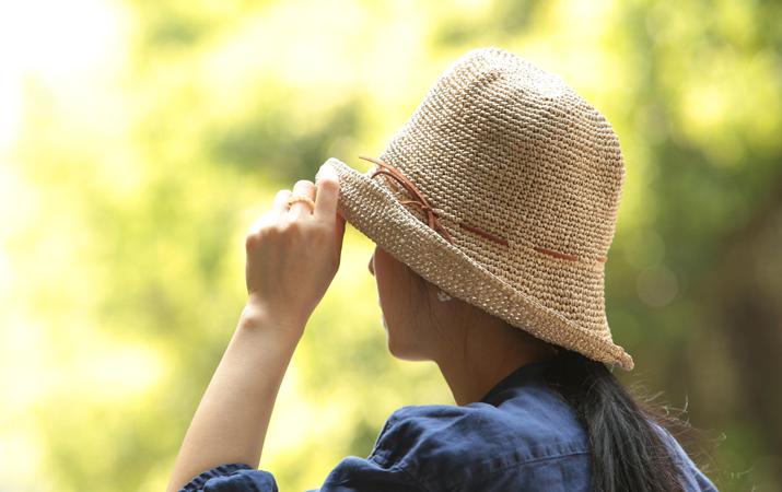 SASAWASHI/手編み帽子