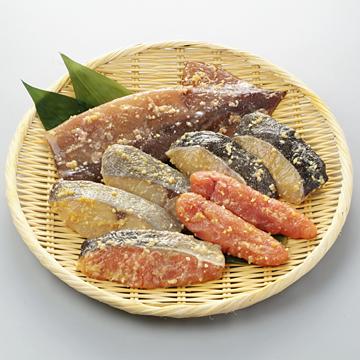 5種の京華漬を楽しむ