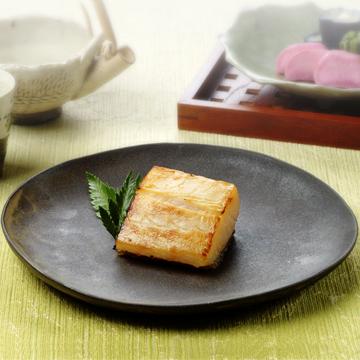 銀鱈の京華漬け竹皮包み