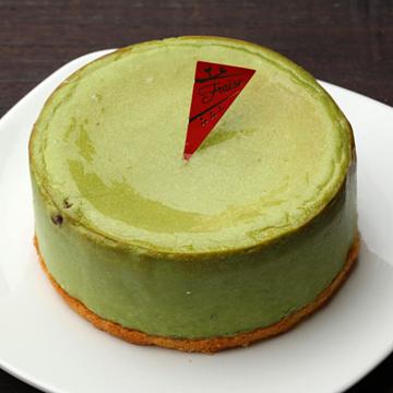 とろける抹茶チーズケーキ