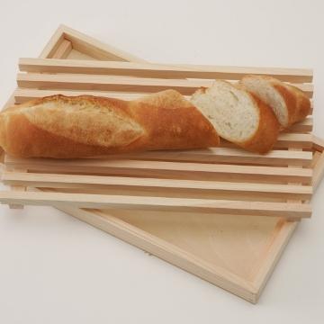 忙しい朝の時短になる!パン用カッティングボード