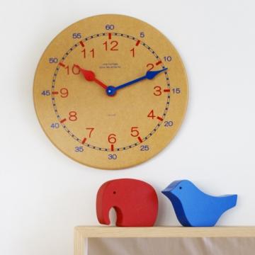 時計の見方を覚えるカラー