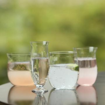 4種のワイングラスのセット