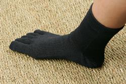 いっぱい歩くから、靴下にもこだわって