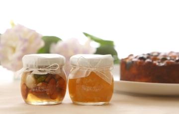 大人の味わい、ジャムと蜂蜜漬けのセット