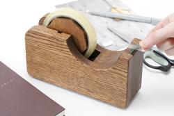 木製のテープカッター