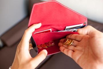 旅行には旅行用の財布で
