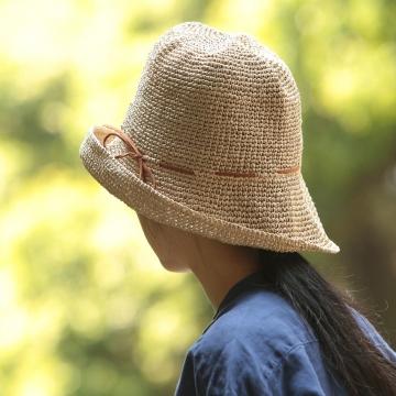長時間かぶっていても快適な帽子