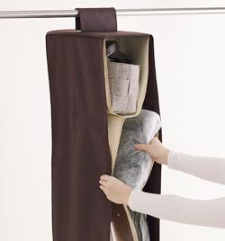収納方法が難しいバッグをラクラク収納