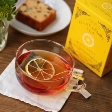 レモンティーに紅茶をプラス
